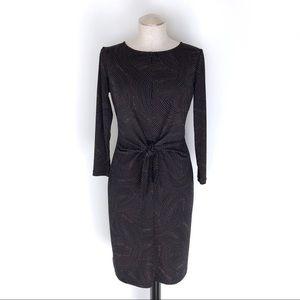 NWT Ann Taylor Tie Waist Sheath Dress Size 4
